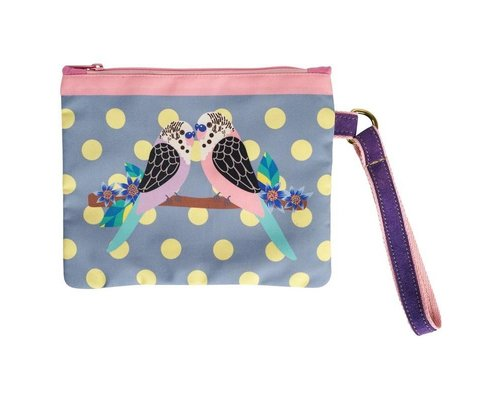 Singing with the Birds Clutch - Blue