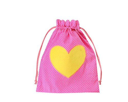 Girls Gym Bag Heart