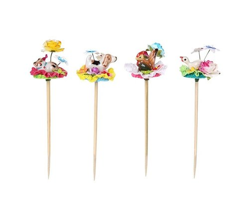 Fancy Cake Decorations Sweet Animal, 4 designs