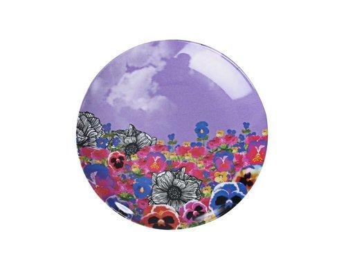 Ginger in Wonderland Melamine Mini Plate - Flower Field