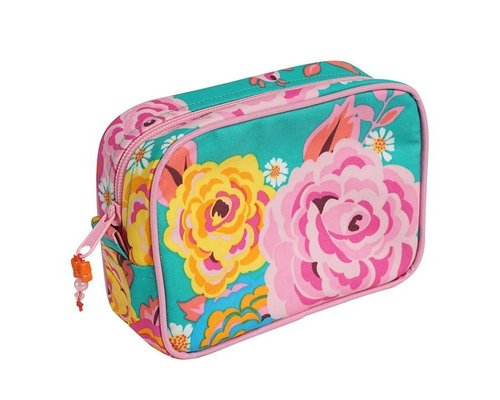 Asian Vintage Flower Toiletry Bag