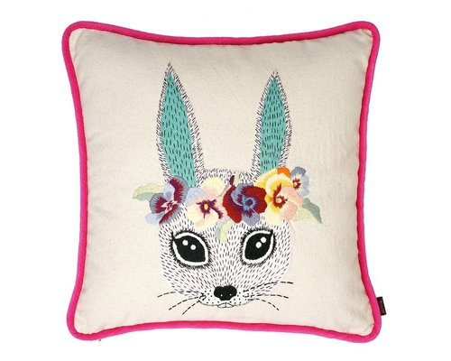 Ginger in Wonderland Cushion Embroidery - Princess