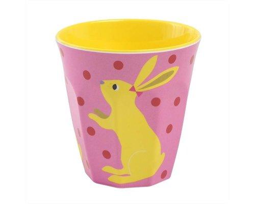So Pretty Kids Medium Melamine Cup - Rabbit