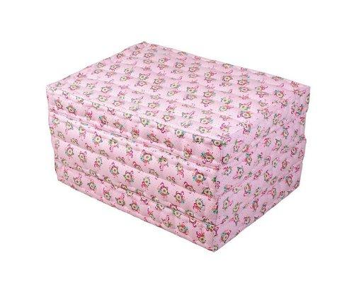 Pink Flamingos 4-fold Floor Mattress