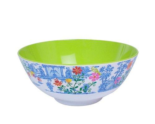 My Secret Garden Toile Extra Large Melamine Bowl
