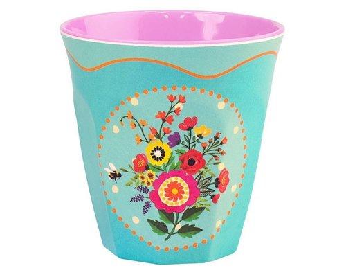 Romantic Garden Medium Melamine Cup