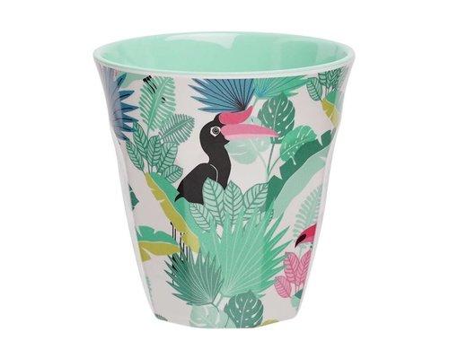 Tropical Paradise Found Medium Melamine Cup