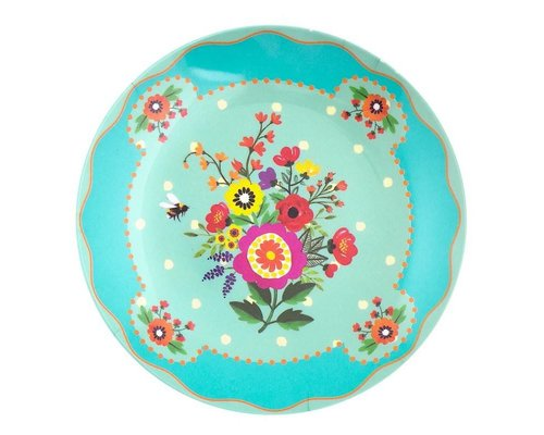Romantic Garden Melamine Mini Plate