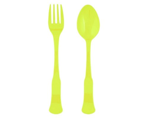 Funky Neon Spoon and Fork Lemonade - Lemonade