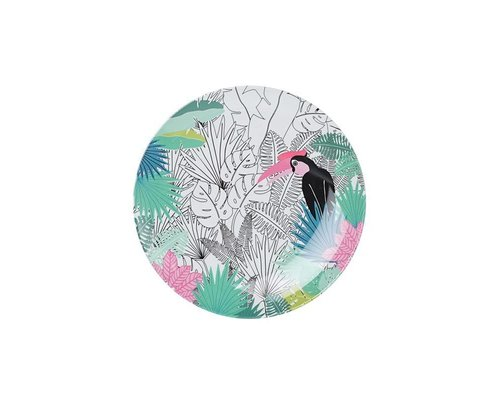 Tropical Paradise Found Small Melamine Plate