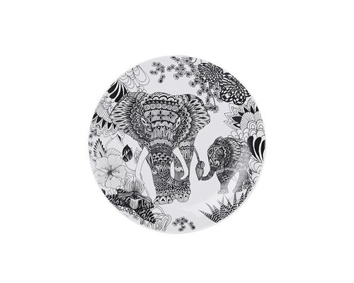 My World Too Ceramic Lunch Plate