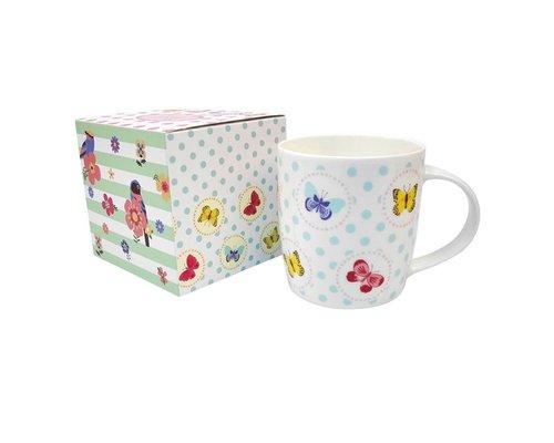 Ceramic Mug Butterflies