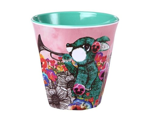 Ginger in Wonderland Small Melamine Cup - Hare