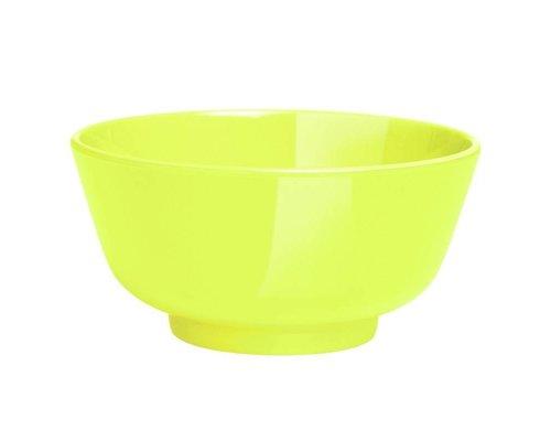 Funky Neon Medium Melamine Dipping Bowl - Lemonade