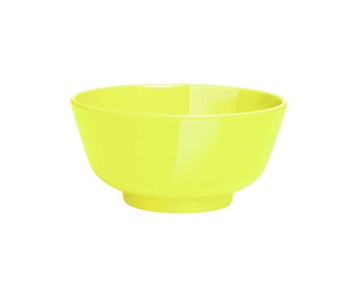 Funky Neon Small Melamine Dipping Bowl - Lemonade