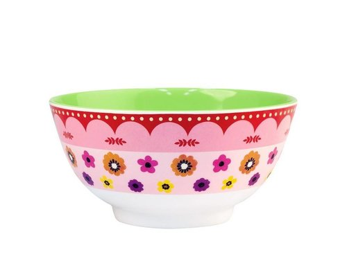 Funky Garden Medium Melamine Bowl