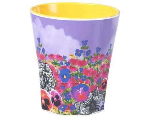 Ginger in Wonderland Large Melamine Cup - Flower Field
