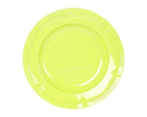 Funky Neon Vintage Melamine Dinner Plate - Lemonade