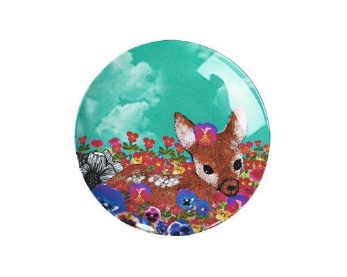 Ginger in Wonderland Melamine Mini Plate - Deer