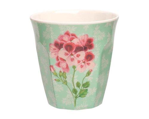Sweet Botanical Medium Melamine Cup - Red