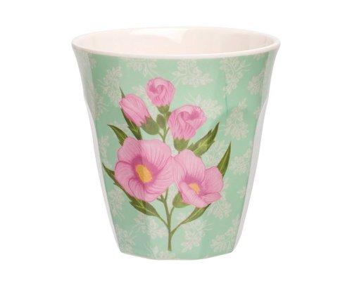 Sweet Botanical Medium Melamine Cup - Pink