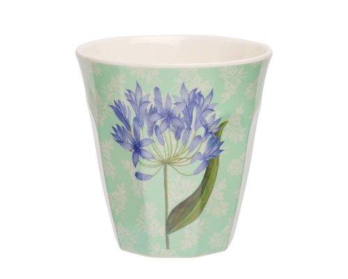 Sweet Botanical Medium Melamine Cup - Purple