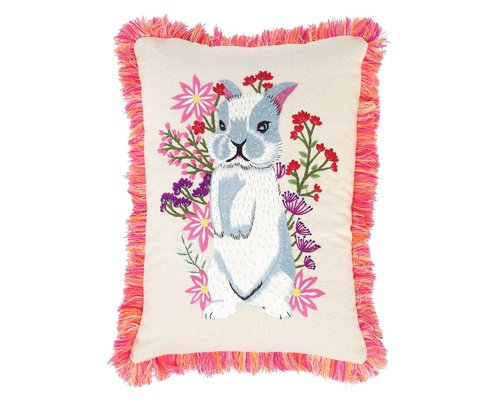 Forest Life Cushion - Rabbit