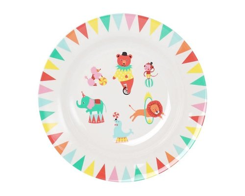 A Day at The Circus Melamine Deep Plate