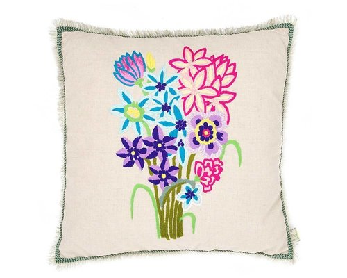 Cushion Bouqet of Flowers