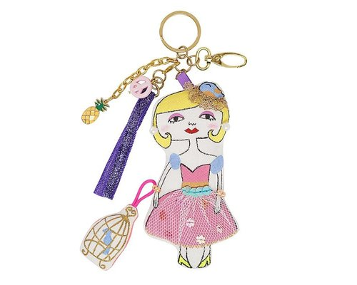Keyring Girl Blond