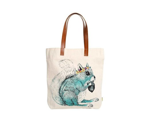 Tote Bag Squirrel