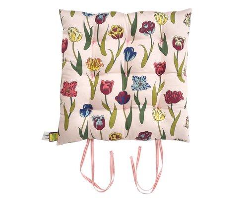 Flower Rain Chair Cushion