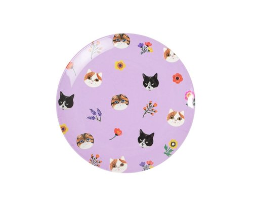 Cats Small Melamine Plate