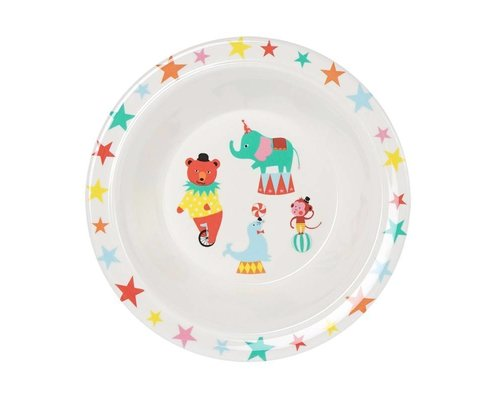 A Day at the Circus Melamine Kids Bowl