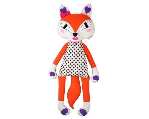 Giant Fox Girl Soft Toy