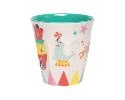 A Day at The Circus Medium Melamine Cup