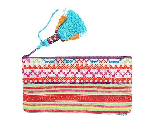 Hill Tribe Small Zip Pouch