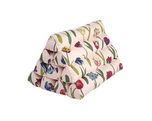 Flower Rain Large Triangle Cushion