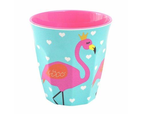 So Pretty Kids Medium Melamine Cup - Flamingo