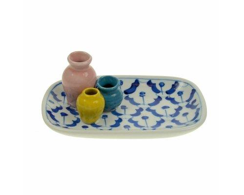 Ceramic Plate Vases