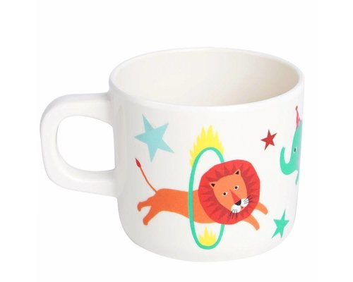 A Day at The Circus Melamine Mug - one handle