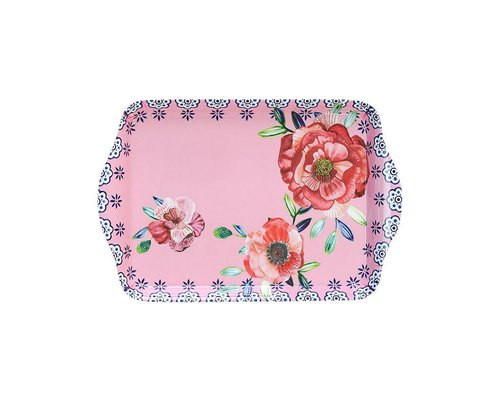 Cheerful Flower Small Melamine Tray