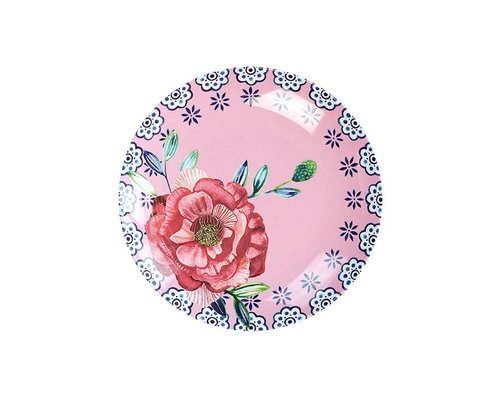 Cheerful Flower Melamine Mini Plate