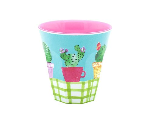 Lovely Cactus Small Melamine Cup