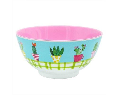 Lovely Cactus Melamine Bowl