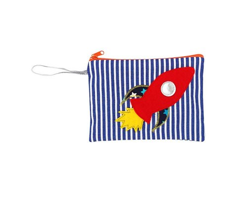 Happy in Space Zip Pouch