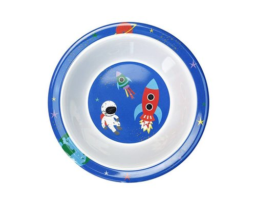 Happy in Space Melamine Kids Bowl