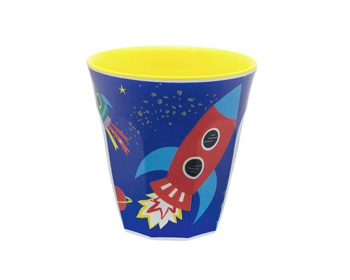 Happy in Space Small Melamine Cup