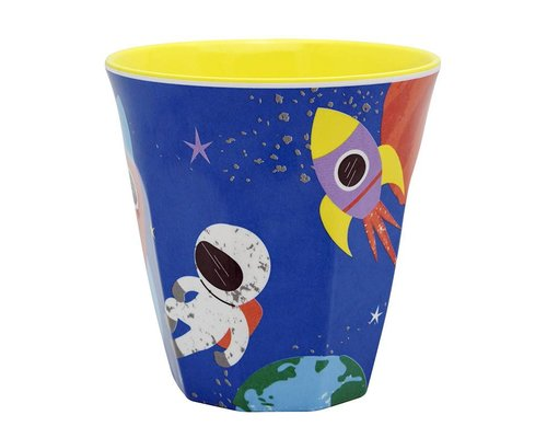 Happy in Space Melamine Medium Cup