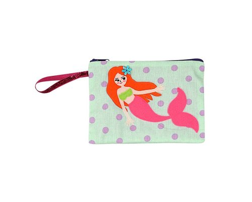Delightful Mermaid Zip Pouch